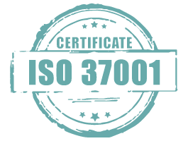 Certificate iso 37001
